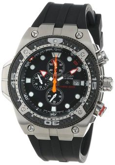 Citizen Men's BJ2145-06E Eco-Drive Promaster Carbon Rubber Strap Metric Dive Watch. Best Dive watches under $1000 http://www.BestDiveWatchGuide.com