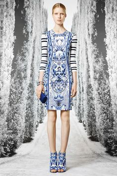Roberto Cavalli Resort 2013 Fashion Show - Elsa Sylvan