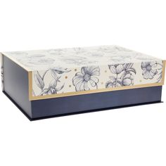 Large Cream Floral Storage Box - Home Office - Home Rooms Tk Maxx, House Rooms, Home Office, Print Patterns, Floral Prints, Cream, Storage, Box, Furniture