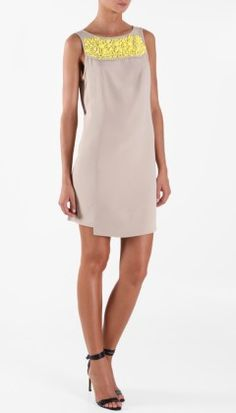 I wish someone would just gift me all of Tibi already.  ;)  Iona Sleeveless Dress in Dust