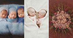 Born Together, Friends Forever! 16 Heart-Melting Newborn Photos of Multiples! Newborn Baby Photography, Newborn Photos, Baby Photos, Newborn Twins, Triplets, Apricot Oil Benefits, Your Best Friend, Best Friends, Heart Melting