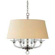 Visual Comfort Lighting E.F. Chapman Geometric 6 Light Hanging Shade