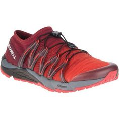 Image of Merrell Men s Bare Access Flex Knit Running Shoes - red  Juoksukengät 5959af30b6