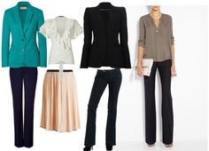 Pear Shaped Body Work Outfits   www.bytrayc.com