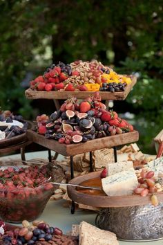 Rustic Food Display