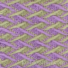 Three Color Scarf Knitting Pattern : 1000+ images about Ferri on Pinterest Knitting Stitches, Cable and Knitting...