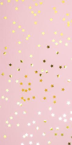 Pink Wallpaper Backgrounds, Star Wallpaper, Pink Wallpaper Iphone, Gold Wallpaper, Cute Patterns Wallpaper, Iphone Background Wallpaper, Aesthetic Iphone Wallpaper, Galaxy Wallpaper, Aesthetic Wallpapers