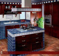 risultati immagini per cucina arte povera pavimento legno | idee ... - Mattonelle 10x10 Cucina In Muratura