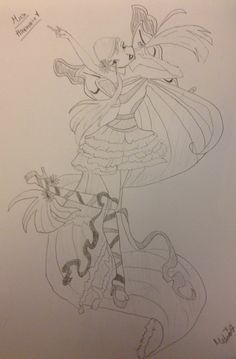 29 best winx club sketches by me images winx club draw drawings