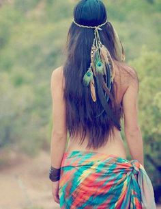 pretty feather combination!