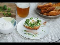 Kefíres lángos | Lila füge Kefir, Veggie Recipes, Veggie Meals, Grubs, Salmon Burgers, Veggies, Favorite Recipes, Chicken, Ethnic Recipes