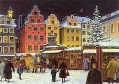 Jan Bergerlind  —  Christmas Market (980×696)