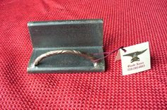 Business card holder made from angle iron $22
