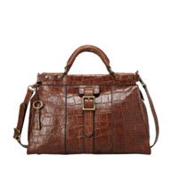 FOSSIL® Handbag Collections Vintage Revival: Vintage Revival Satchel ZB5425 #FossilVintageRevival in