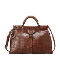 FOSSIL® Handbag Collections Vintage Revival: Vintage Revival Satchel ZB5425 #FossilVintageRevival in