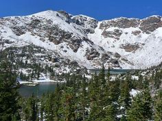 Crater Lakes 6.0 miles from Moffat Tunnel/East Portal  On the approach to Upper Crater Lakes