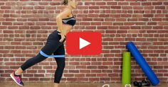 Resistance Band Workout for Total-Body Strength Get a total-body workout at home. Just BYOBand. h…Get a total-body workout at home. Just BYOBand. Fitness Workouts, Short Workouts, At Home Workouts, Band Workouts, Mini Band Exercises, Stomach Workouts, Exercise Bands, Quick Workouts, Stretch Band