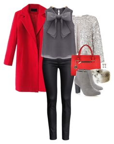 Tis the Season by stephstan87 on Polyvore featuring polyvore, moda, style, Chicnova Fashion, John Lewis, H&M, Jane Norman, Pieces, Helen Moore, fashion and clothing