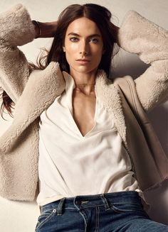 """Jessica Miller fronts the fall-winter 2015 campaign from Swedish brand Hunkydory. The brunette models casual basics in images captured by Camilla Akans with styling by Lisa Lindqwister. From denim to tees to sweaters, Jessica oozes casual cool for the advertisements. About Hunkydory clothes, Jessica says, """"It's super cool and effortless, which I like. I like …"""
