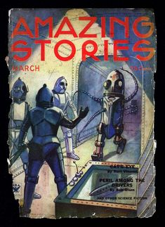 Comic Book Cover For Amazing Stories v08 11 - Triplanetary - Edward E. Smith