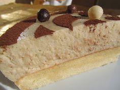 Tarta mousse de avellanas Thermomix Cake, Desserts, Rustic, Food, Custard, Deserts, Rice, Mousse Cake, Thermomix