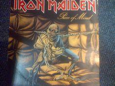 Iron Maiden,Piece of Mind,South Africa Press,EMCJ(D)5309,#ironmaiden  #BritishMetalNWOBHM