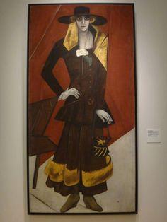 * Natalia Gontcharova 1920 récemment identifié comme un portrait de Casati par Alexandre Vasiliev