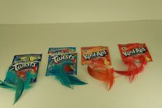how to dye feathers with sugar fee kool aid. Finished Product by AllenSchaugaard, via Flickr