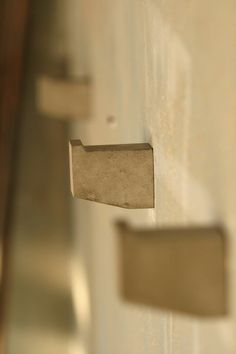 set of 3 concrete hooks - $45 at etsy