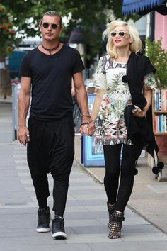 Gwen Stefani can wear just about anything and look chic, but her look is not reserved for celebs with rock star-level style. Instead of reaching for a generic tunic, try an extra-long T-shirt or mini dress in a vivid pattern, finished off with ankle boots.
