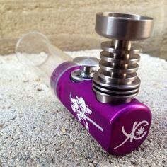 Purple titanium