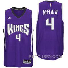 48879e537aa8 Arron Afflalo Sacramento Kings New Swingman Purple Road Jersey