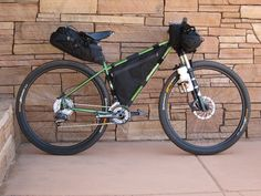 Bedrock Bags, Bikepackings Premier Bag Crafter