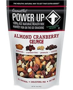 Power Up Trail Mix - Almond Cranberry Crunch, 100% All Natural Trail Mix (Pack of 2) >>> You can get additional details at the image link.