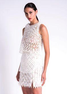 Pour son diplôme en design de mode au Shenkar université de Tel Aviv, Danit Peleg a décidé de travailler avec l'impression 3D pour vérifier si il était possible de créer un vêtement entier en…