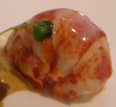 Butter-Poached Lobster Tails with Caviar Mousse  Seven-Course Dinner - Menu and Recipes