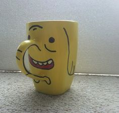 Hey, I found this really awesome Etsy listing at https://www.etsy.com/listing/179311776/treetrunks-from-adventure-time-mug