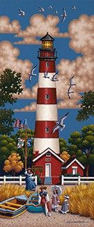 Assateauge Lighthouse Thumbnail