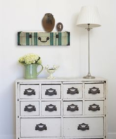 This 24'' Vintage Suitcase Wall Shelf by MCS Industries is perfect! #zulilyfinds