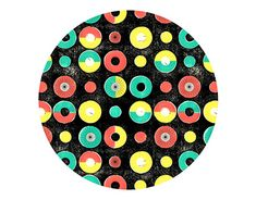 """Check out new work on my @Behance portfolio: """"Fabric Pattern Circles and Dots"""""""