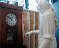 Museu de Portimao- relógio da fábrica de conserva de peixe