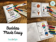 20 Activities To Do With Reading Buddies or Big/Little Buddy Time - Create Dream Explore Creative Teaching, Teaching Tips, Teaching Reading, 1st Grade Books, Grade 2, Second Grade, Building Classroom Community, Reading Buddies, Typing Skills