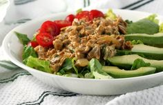 Cheesy Mexican Chicken Salad