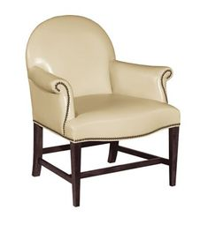 Oxford Pull-Up Chair from the Upholstery collection by Hickory Chair Furniture Co. 30w x 28.75d x 36.5h