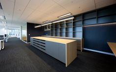 Office Tour: Australand Residential's Spacious Offices Showroom Interior Design, Interior Design Website, Interior Work, Interior Architecture, Home Office Organization, Office Workspace, Office Storage, Office Spaces, Wall Storage