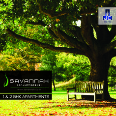 Seamless landscaped gardens, peaceful environment and total rejuvenation is what makes Savannah an ideal place for a quiet family getaway. #LiveInSavannah  To know more: www.savannah.co.in
