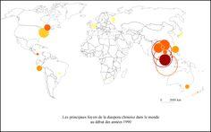 La diaspora chinoise : un fait géopolitique, économique et culturel — Géoconfluences