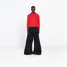 BALENCIAGA GIANT PANTS | Oversize skater pants