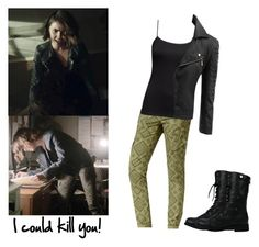 """""""Malia Tate 5x13 - tw / teen wolf"""" by shadyannon ❤ liked on Polyvore featuring Jolt, H&M and Doublju"""