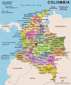 Ecuador Province Map Province Map of Ecuador Maps Pinterest